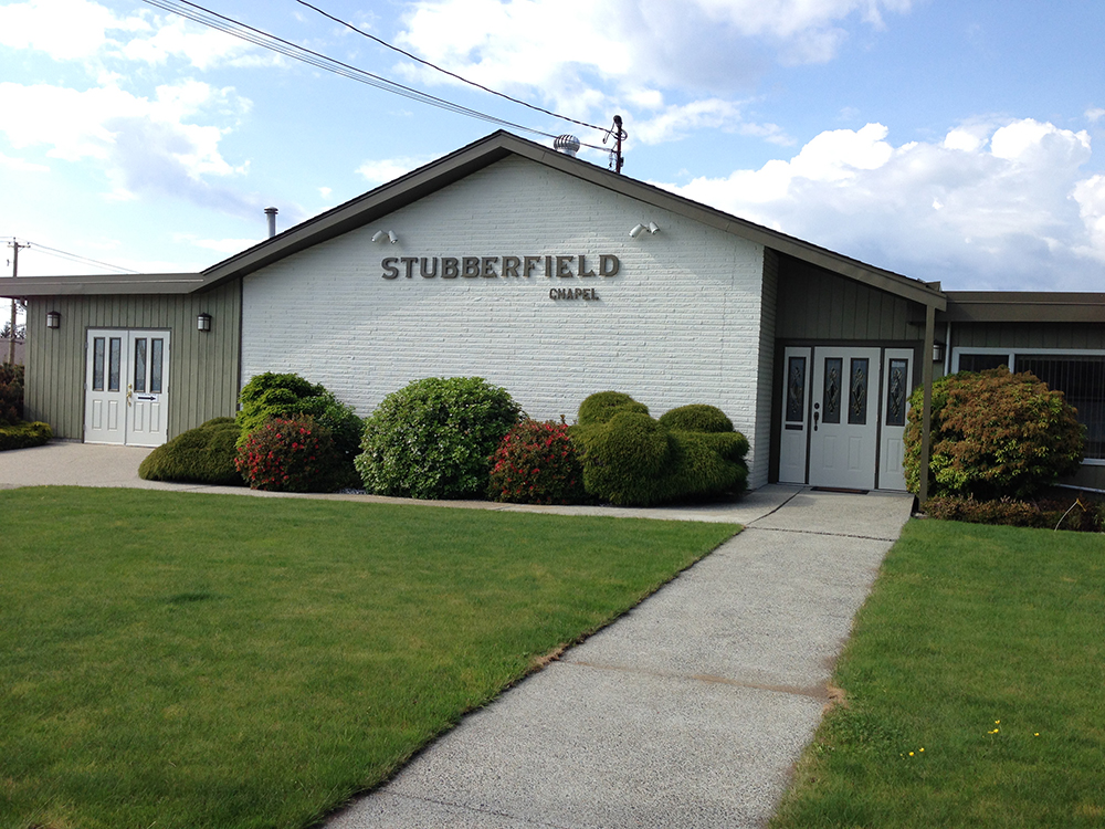 Stubberfield funeral home powell river community directory for Powell homes