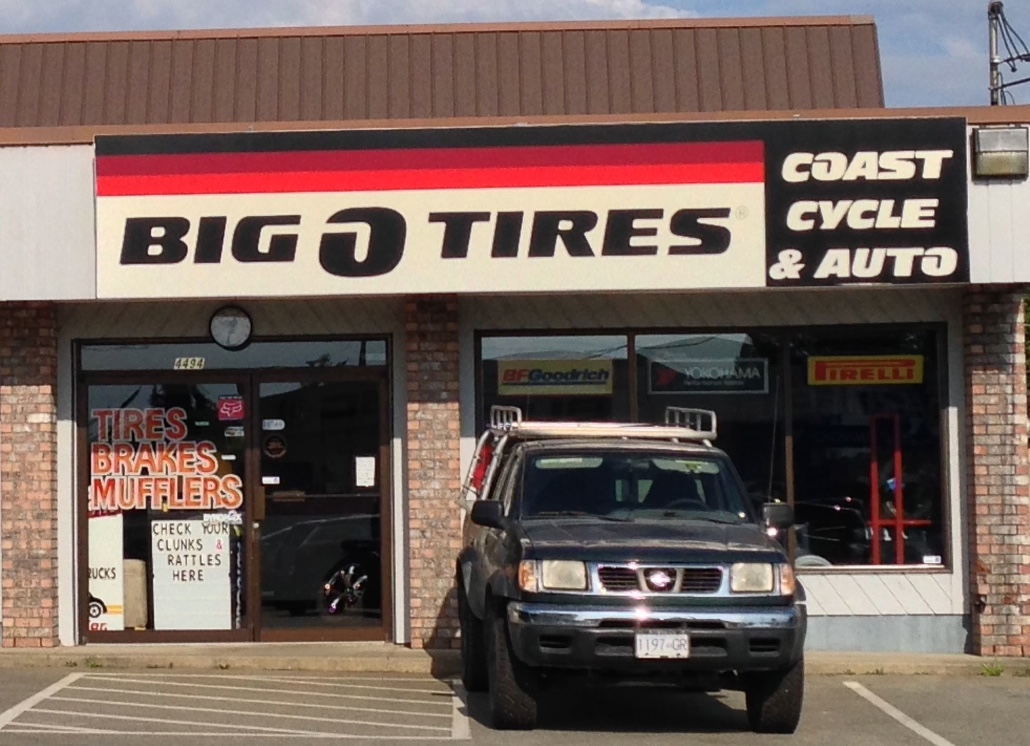 Big O Auto >> Big O Tire Coast Auto Centre Powell River Community Directory